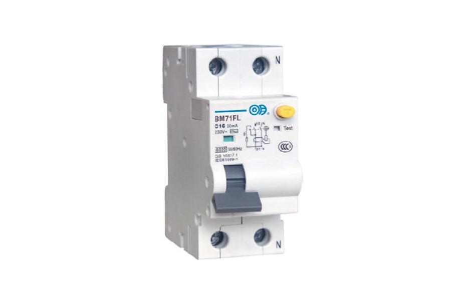 BM71FL 系列带过电流保护的剩余电流动作断路器(电磁式)