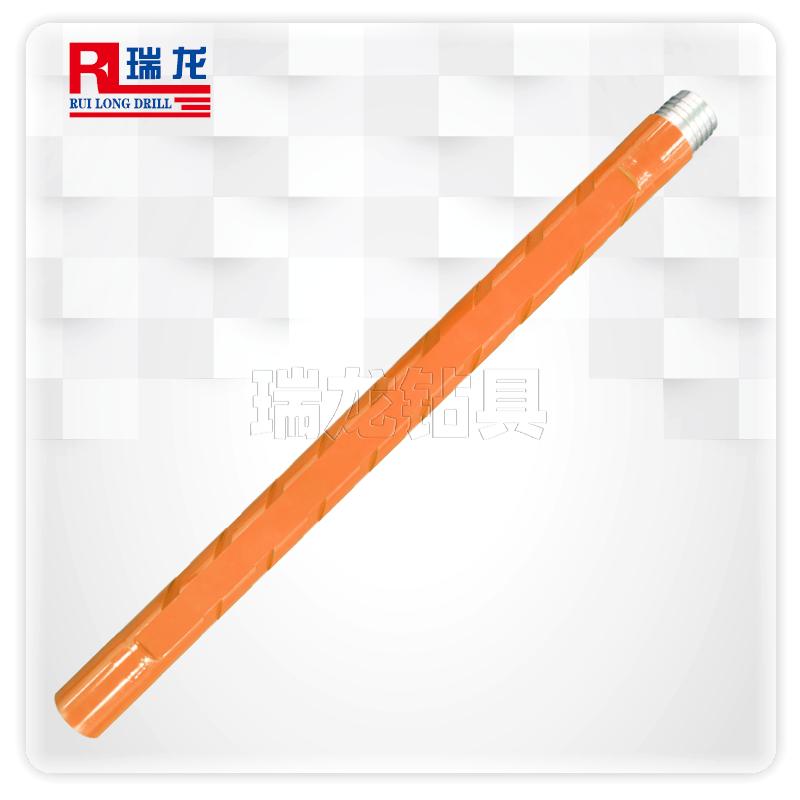 异型多棱刻槽通缆钻杆  千米定向钻杆规格可定制——瑞龙钻具