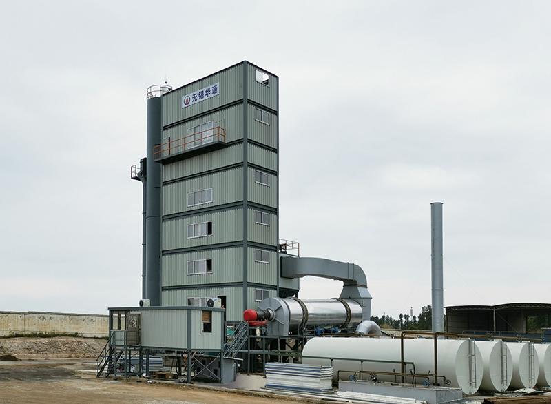 JLB4000XC 环保型集装箱式沥青混合料搅拌站