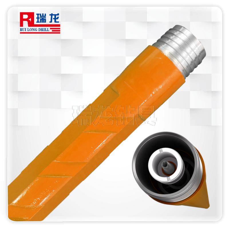 三棱刻槽通缆钻杆  千米定向钻杆规格可定制——瑞龙钻具