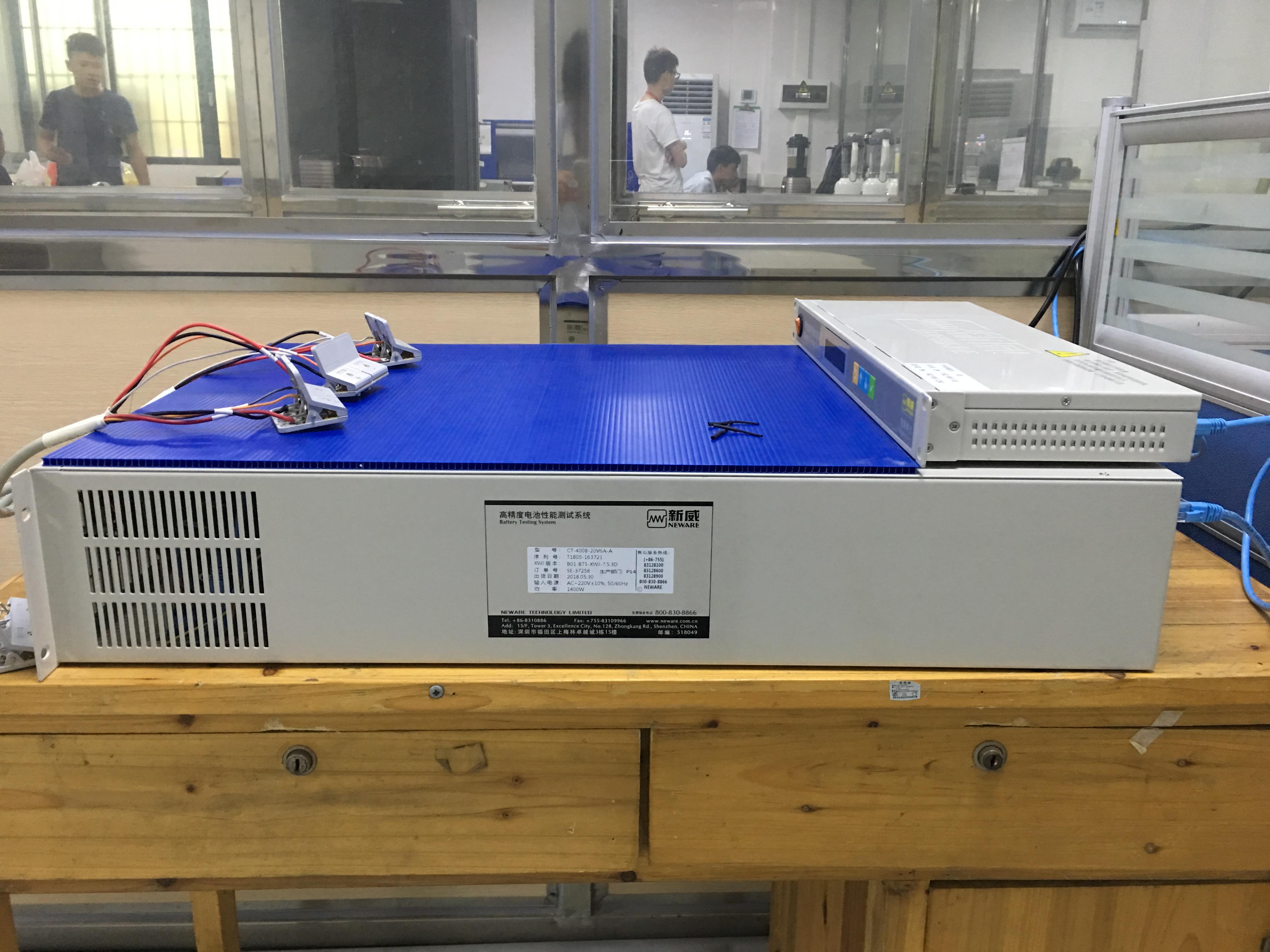 高精度電池性能測試系統