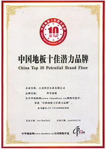地板十佳品牌