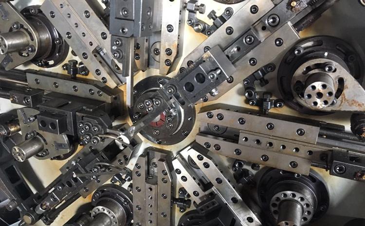 數控彈簧成型機