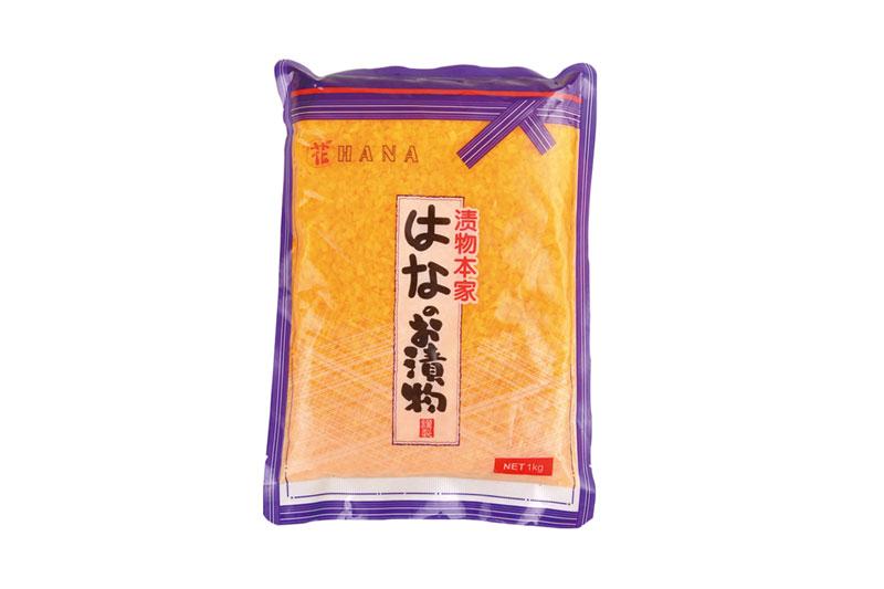 日式黃蘿卜粒1kg