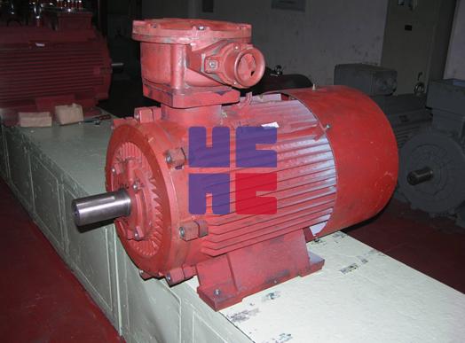 YBK3系列煤矿井下用隔爆型三相异步电动机(H100~H355)