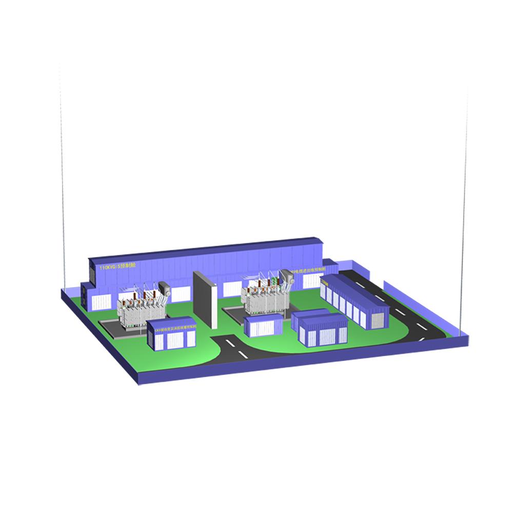 110kV模塊化預制艙式變電站