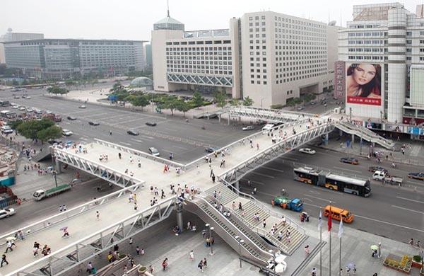 北京西單新一號人行天橋