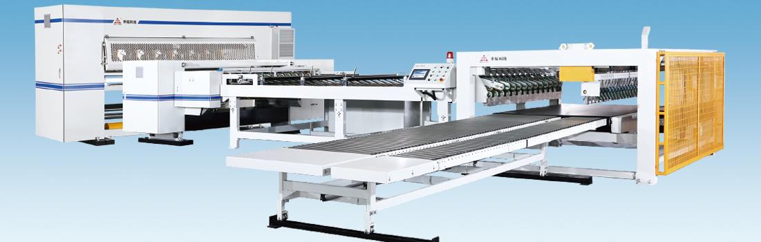 單面瓦楞紙板生產線全自動干部設備配置方案一