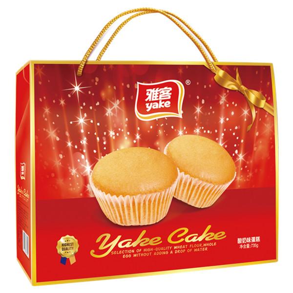 735g雅客酸奶味蛋糕