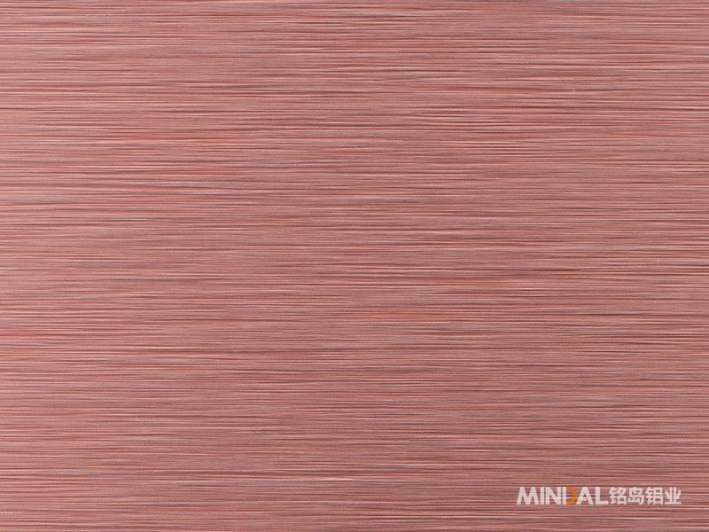 紫铜色短拉丝