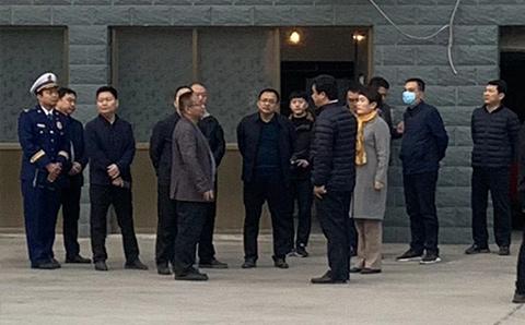 2020年11月14日晉州市委書記張福杰及各位領導蒞臨本公司指導工作,參觀考察