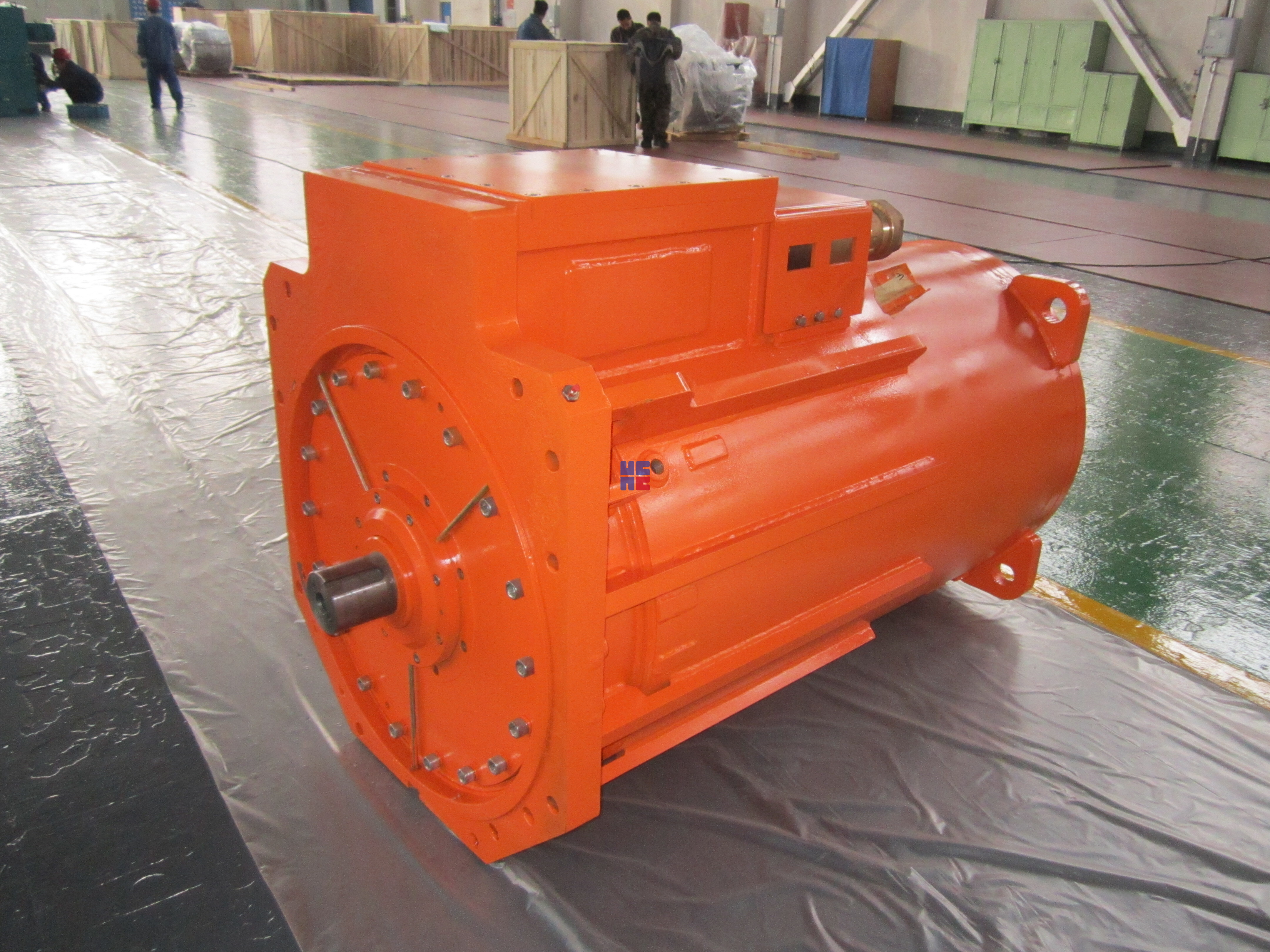 YBSD系列输送机用双速隔爆型三相异步电动机