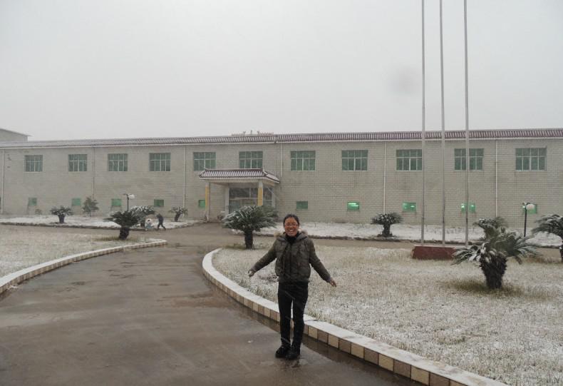 2012年最后一场雪