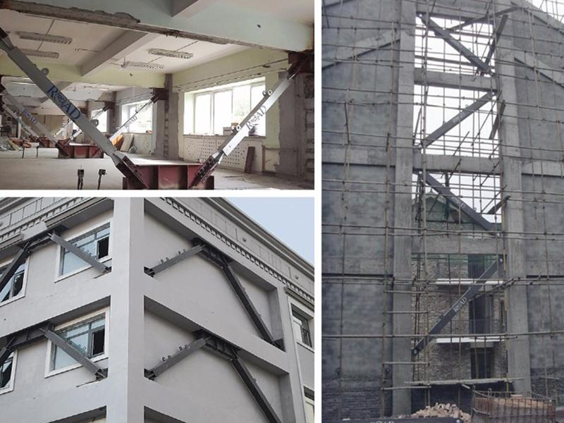 屈曲約束支撐應用于廠房及建筑物