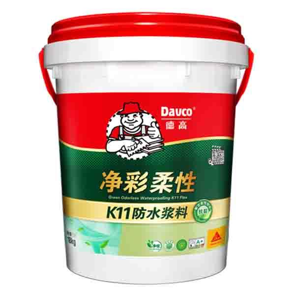 德高凈彩柔性K11防水漿料