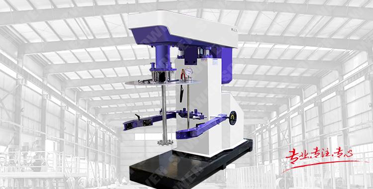 Hydraulic lifting high speed disperser