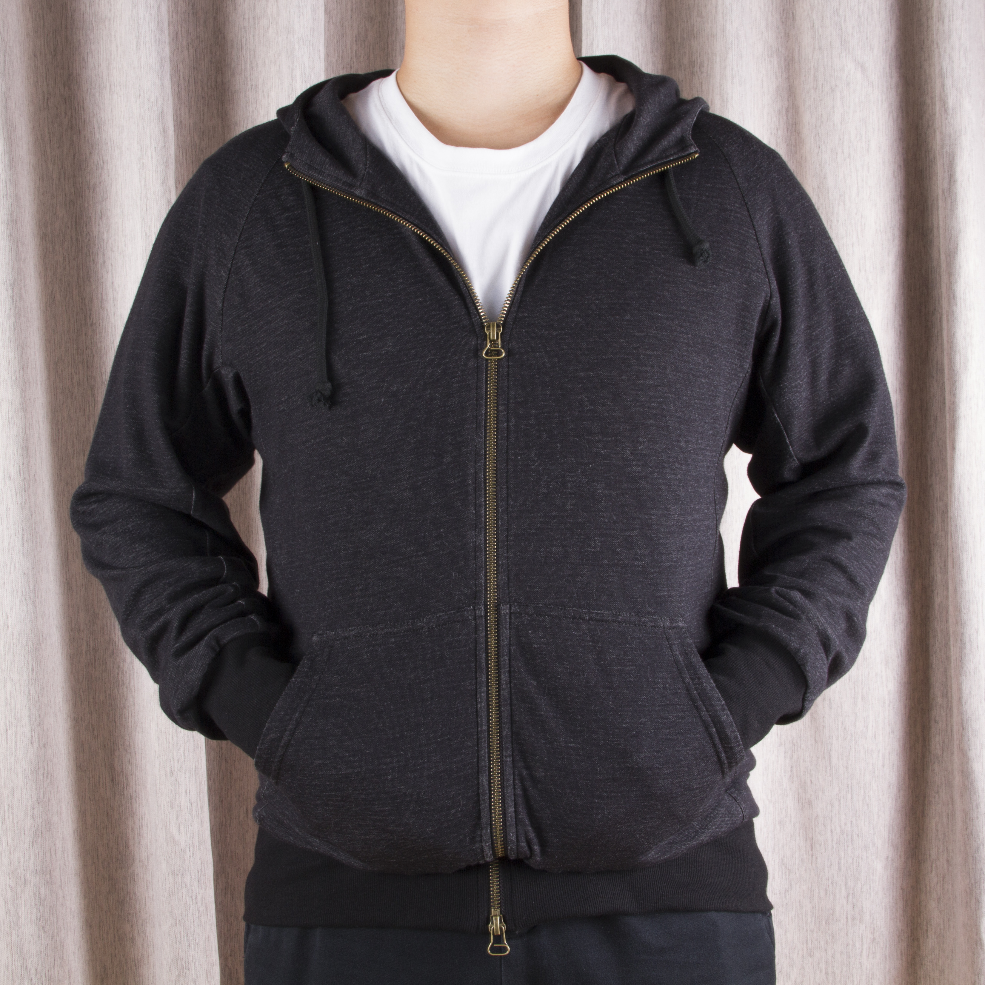帶屏蔽拉鏈銀纖維棉針織電磁波屏蔽開衫衛衣