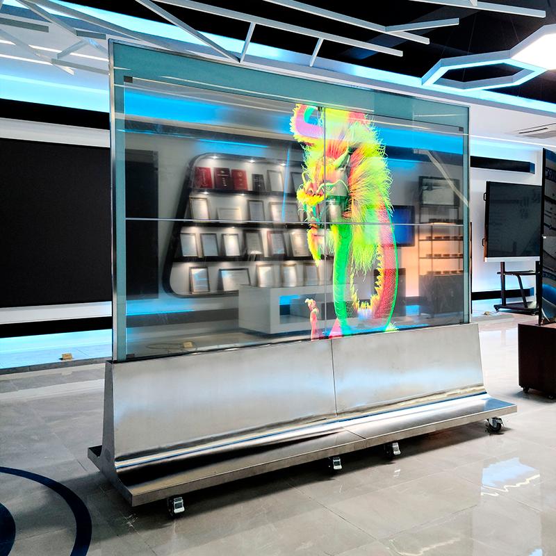 55寸OLED透明拼接屏尺寸參數