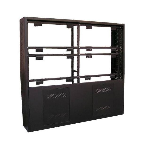 机柜式安装支架 触控拼接屏专用安装