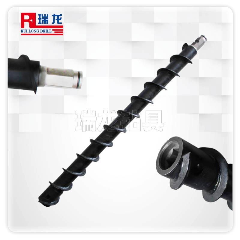 Φ100-60-B41-1500六方通水地质螺旋钻杆 煤钻杆——瑞龙钻具