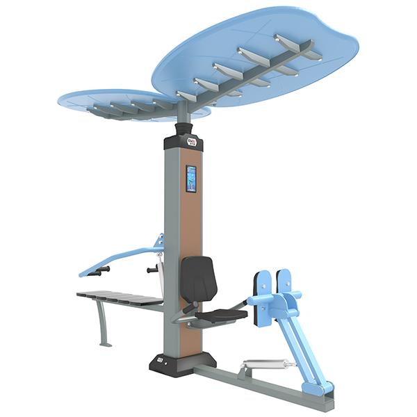 GYX-ES06B坐蹬推舉組合訓練器