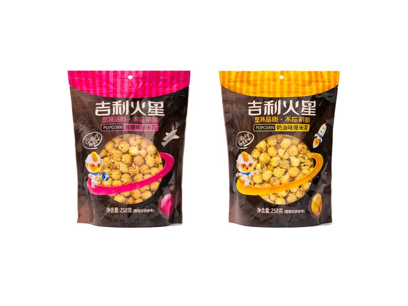 吉利火星Popmefatale80g袋装坚果爆米花