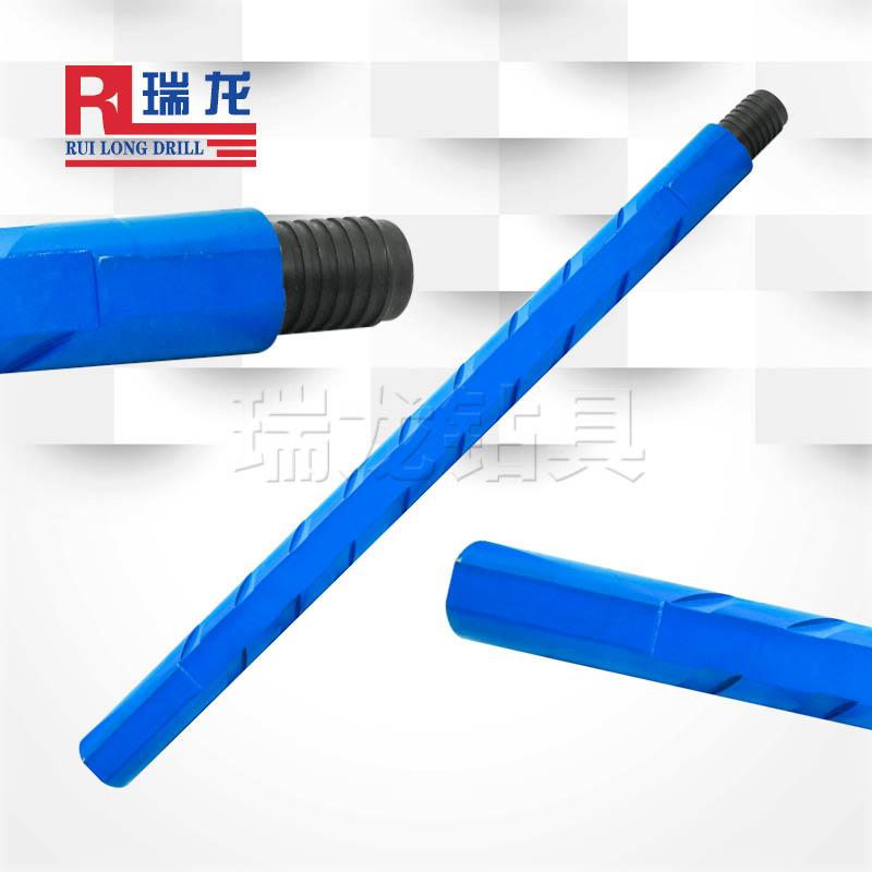 φ73异型多棱刻槽钻杆 重型三棱刻槽钻杆——瑞龙钻具