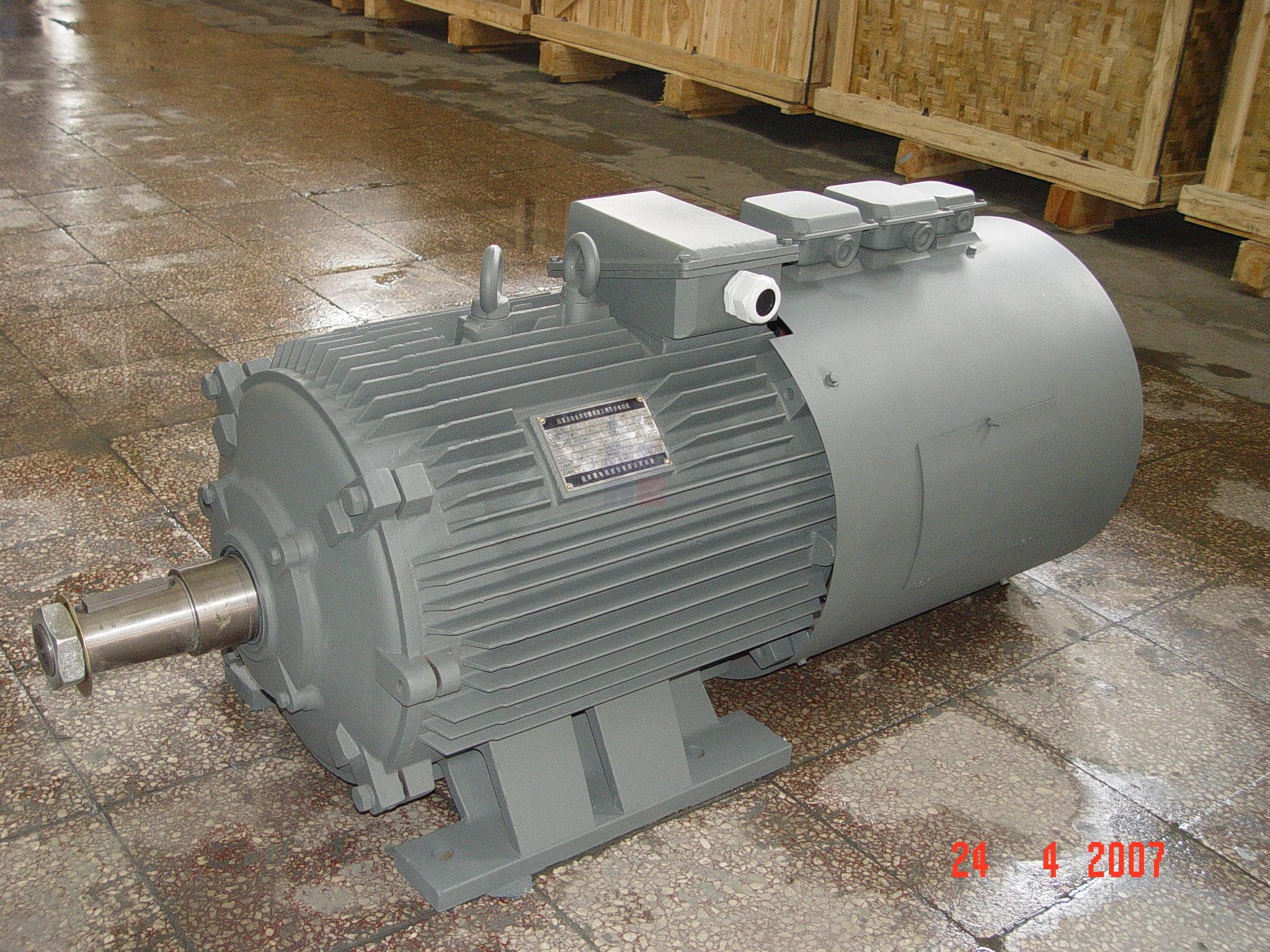 YZP系列起重及冶金用變頻調速三相異步電動機(機座號112-400)