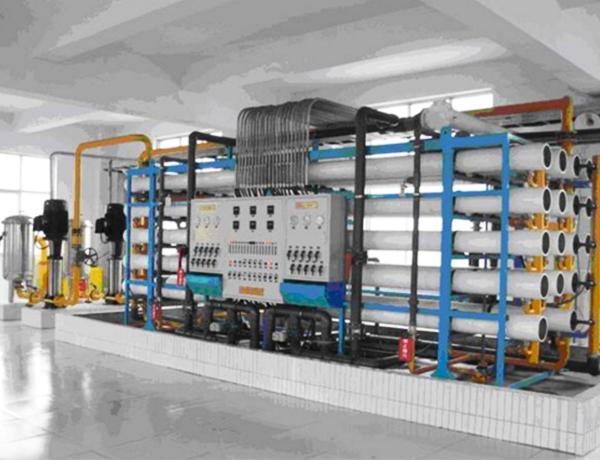 鍋爐爐水處理系統