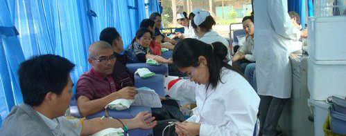 海南宇龙汽车部件有限公司工会组织无偿献血