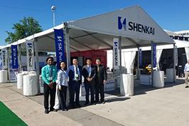 2017年5月神开股份参展第48届美国石油技术展览会(OTC)
