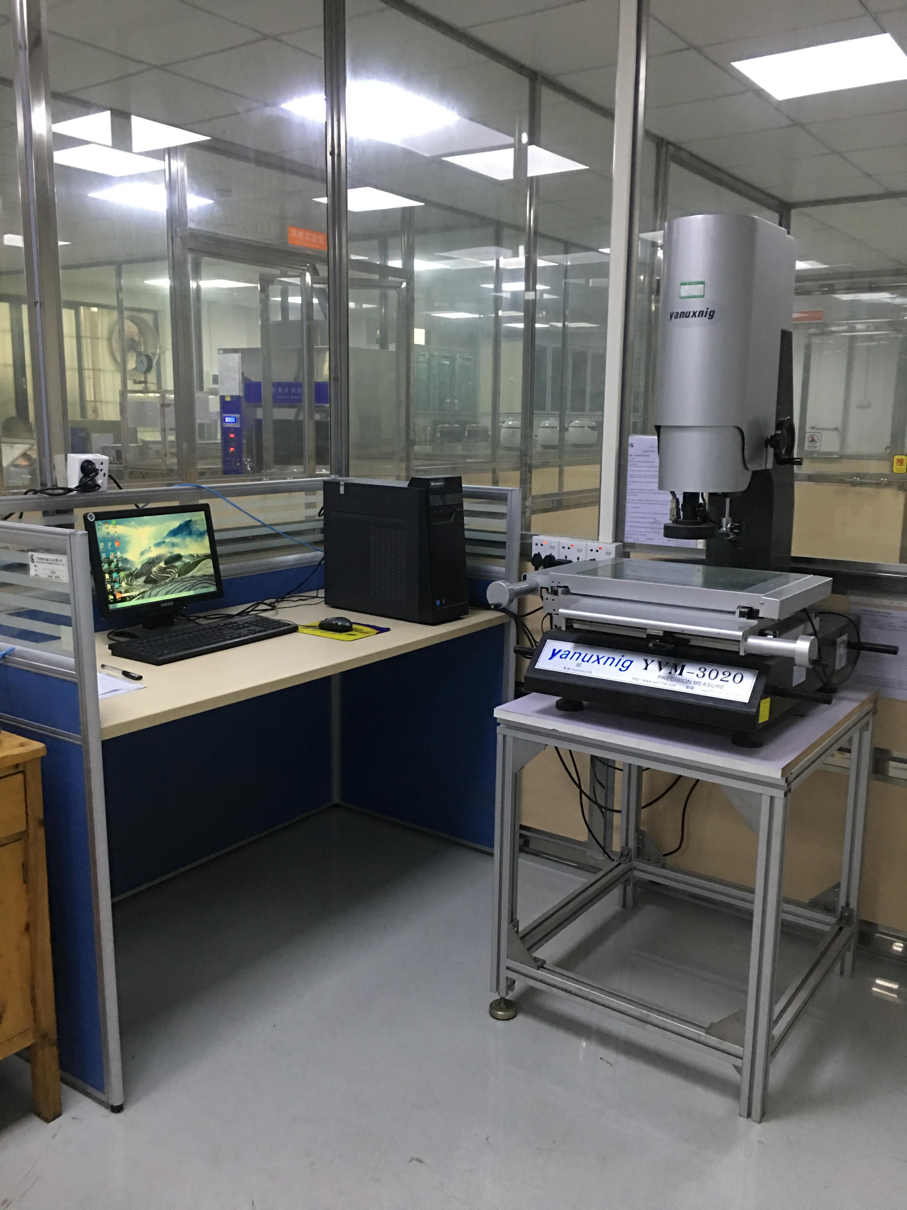 影像測試儀操作系統