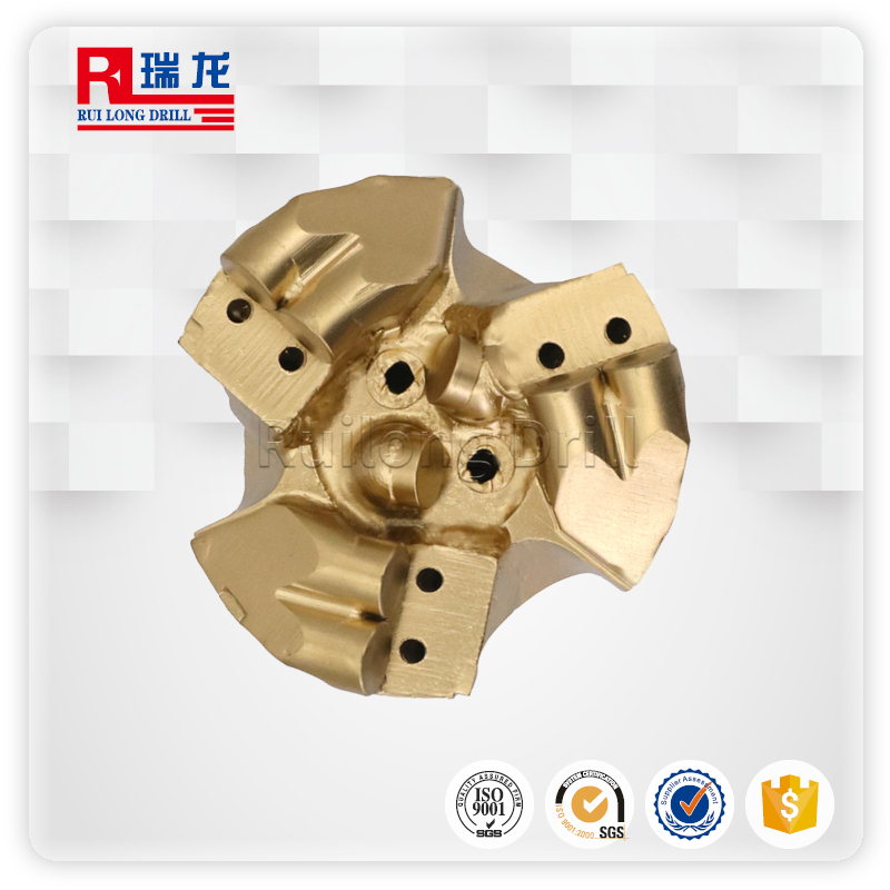 φ94-N51-5.08三翼壓風降溫排渣鉆頭 支持定制 瑞龍鉆具
