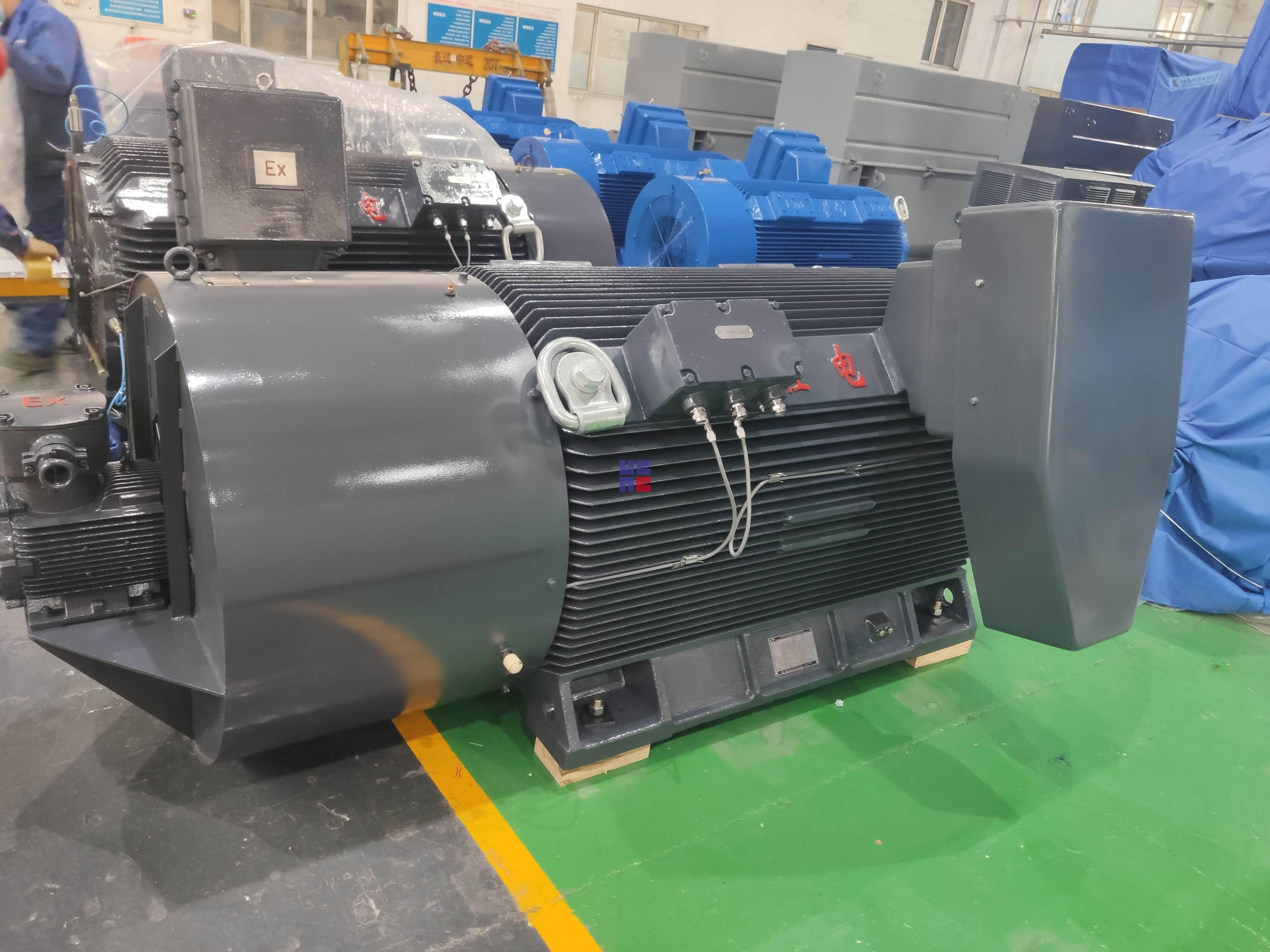 YBBP3系列高壓隔爆型變頻調速三相異步電動機(H355~H630)