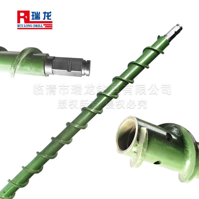 Φ100-63.5-B41-1000mm地质螺旋钻杆 煤钻杆——瑞龙钻具