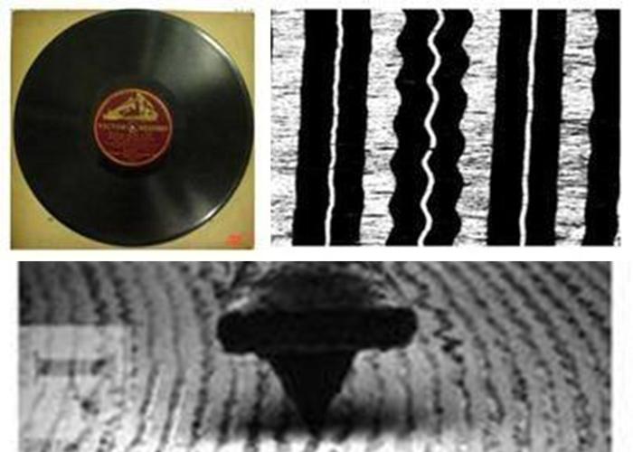 """""""看到""""聲音:科學家用顯微鏡播放老唱片"""