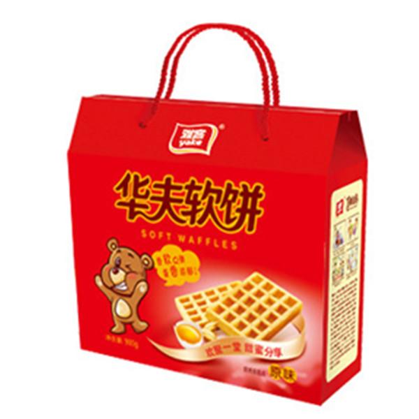 980g雅客華夫軟餅
