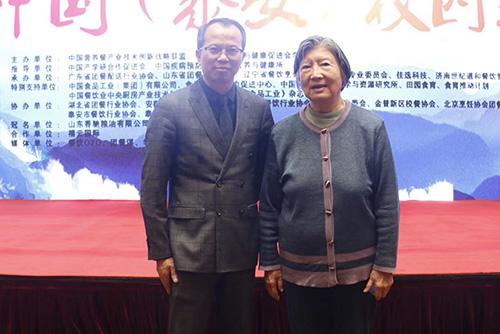 陳偉力中共元老陳云之女中國營養餐創新產業技術聯盟理事長