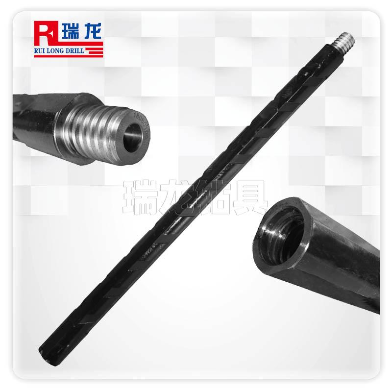 φ50-35.5-6.35-1M重型三棱刻槽钻杆 异型多棱刻槽推力排渣钻杆——瑞龙钻具