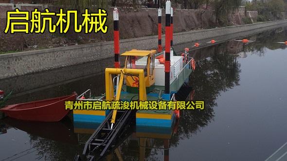 泥漿脫水清淤船