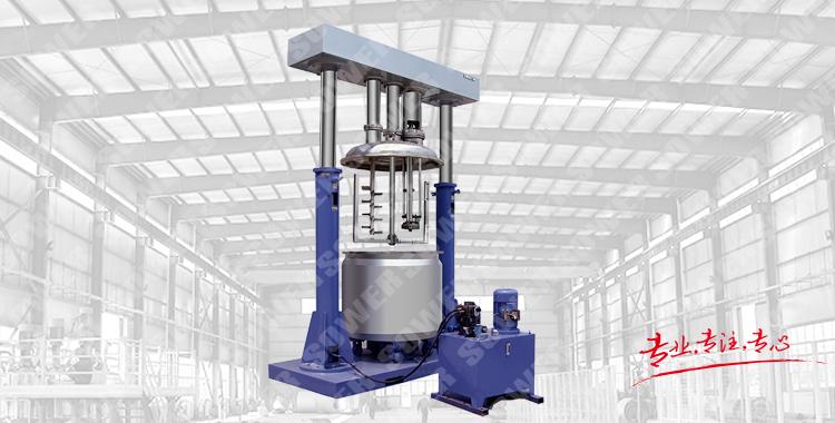 SWSZ Gantry type three-axle mixer