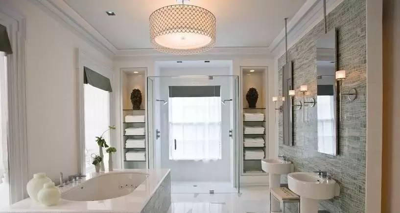 教你如何打造完美衛浴,滿篇的干貨!