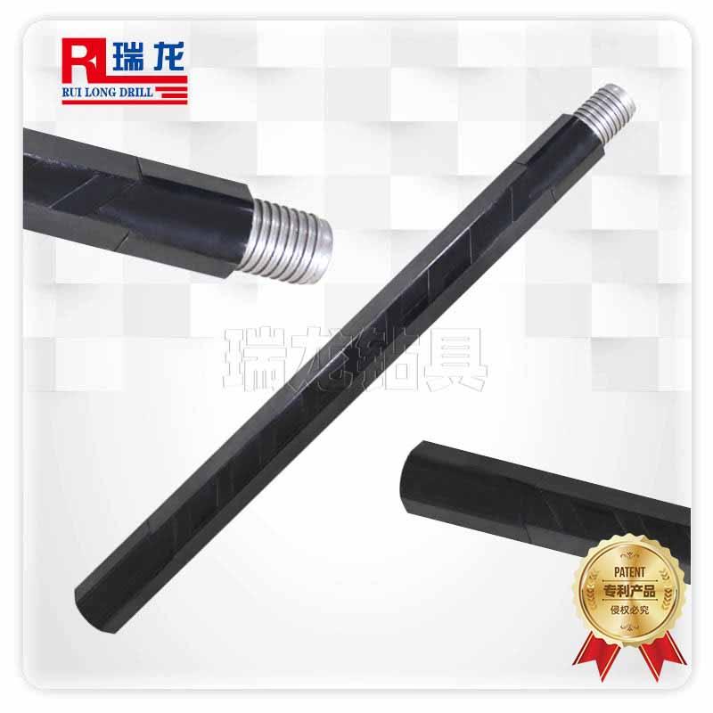 φ89重型三棱刻槽钻杆 异型多棱刻槽钻杆——瑞龙钻具