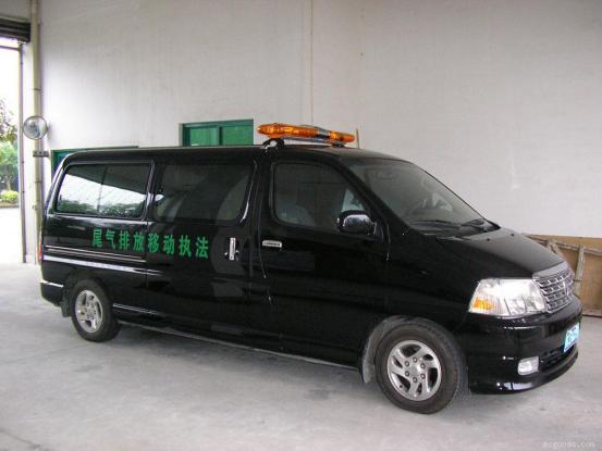 汽车尾气遥感监测车