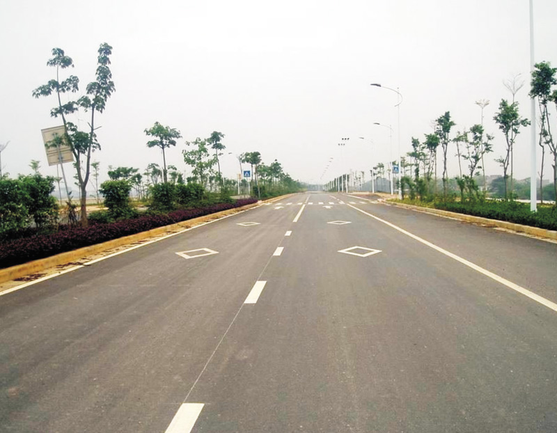 共同江南堤路園(中心大橋至三津段)路基排水工程4#標和路面工程2#標工程被評為2007年廣西優質工程