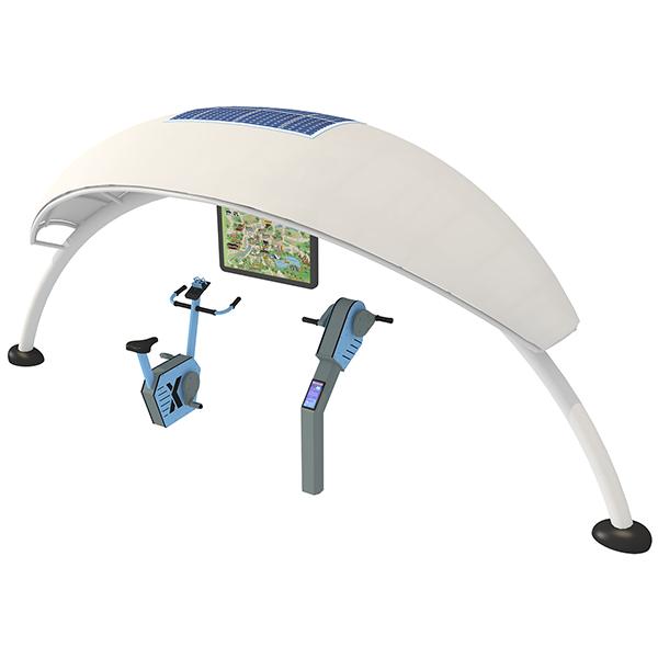 GYX-ZL2020-2室外動感單車系列