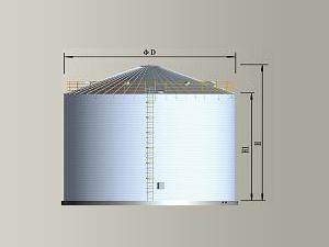 TCK寬板系列鋼板倉