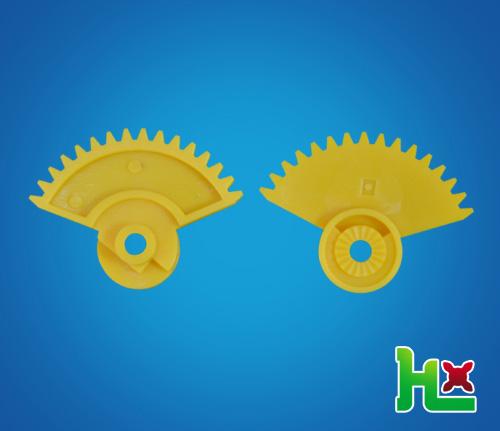傘形限位齒+離合齒輪