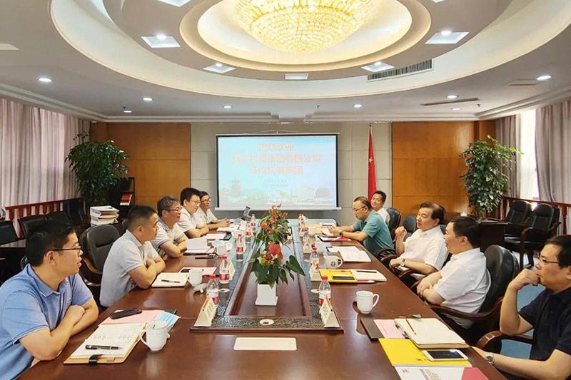 集團副總裁劉曉亞到訪杭鋼集團考察交流