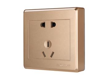 二、三極連體插座